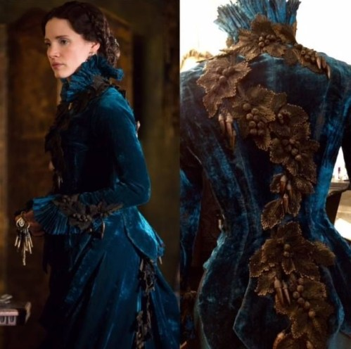 crimson-peak-lucille-dress-design-blue-velvet