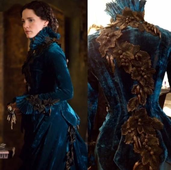crimson-peak-lucille-dress-design-blue-velvet